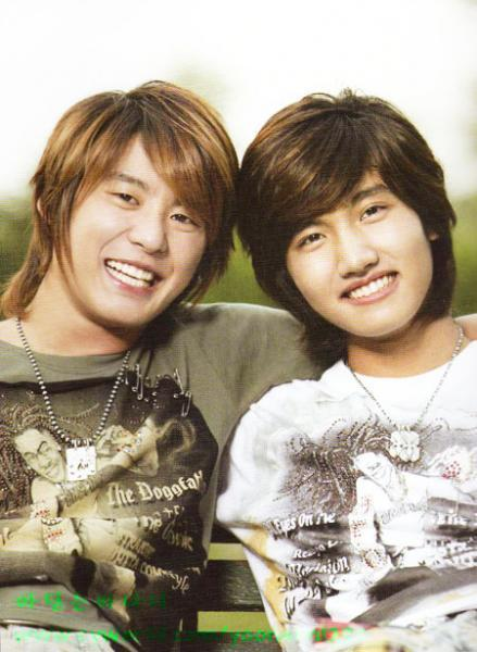 junsu and changmin smile